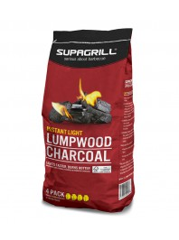 Supagrill Instant Light Lumpwood Charcoal